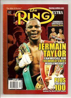 Ring Boxing Magazine Jermain Taylor Barry McGuigan Paul Pender