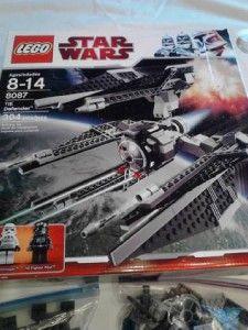 Lego 8087 Star Wars Tie Defender 304 Pieces Complete