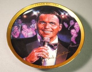 Frank Sinatra Strangers in The Night Music Box by The Franklin Mint