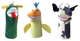 Educational Products Baby Einstein 3 Puppet Collection Bard TH