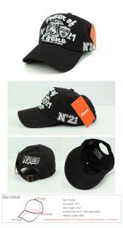 New Baseball Cap Snapback Hat Valentino Logo Caps Black Caps