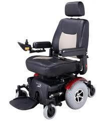 Merits P327 Super Vision Bariatric Heavy Duty Power Wheelchair Scooter
