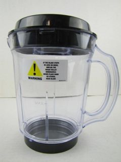 Genuine Original Magic Bullet 3 Piece Blender Pitcher