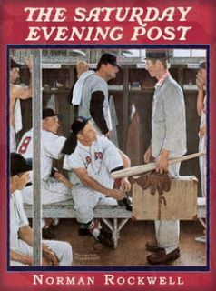 Norman Rockwell 1000 Piece PC Jigsaw Puzzle Baseball