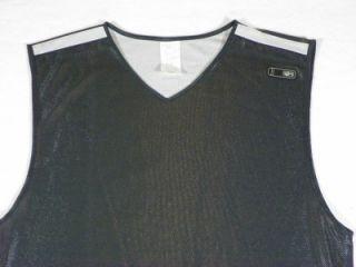 Reversible Mesh Tank Sz Medium Tall Black White Basketball MT