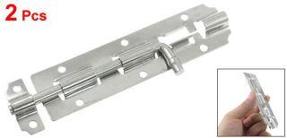 pcs metal barrel bolt padlock clasp for door drawer please note that