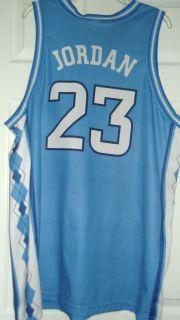 JORDAN 23 North Carolina Basketball Jersey Adult XL by Jordan 48x32