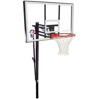 NBA 52 Inch Acrylic Helix In Ground Basketball backboard system hoop
