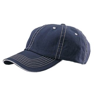 NEW LOW PROFILE COTTON TWILL & BASEBALL CAP HATS WASHED HAT NAVY