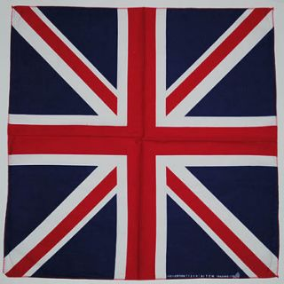 70s 80s Metal UK United Kingdom Great Britain Union Jack Flag Bandana