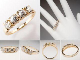 genuine diamond wedding band ring 14k gold sku wm7659