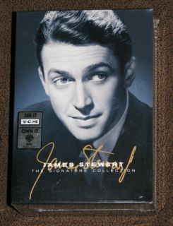 NEW James Stewart Signature Collection Box Set 5 Disc Set DVD