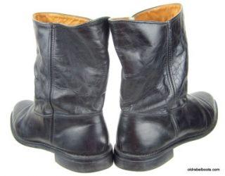 Fierce Vtg Black Glove Leather Bates Floataways Work Motorcycle Boots