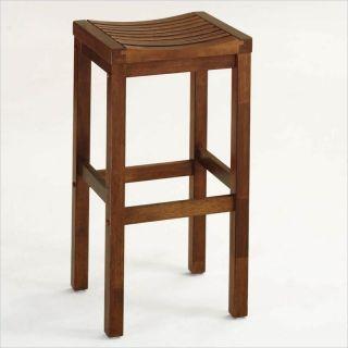 Home Styles Furniture 29 Solid Hardwood Backless Oak Bar Stool