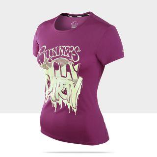 Nike Challenger Runners Play Dirty Womens Running Shirt