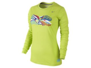 Nike Dri FIT Long Sleeve Graphic (2012 Marathon) Womens Shirt