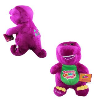 Barney Dinosaur 40 cm Soft Plush Doll Toy with Music