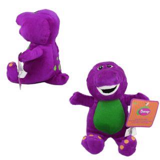 Barney Dinosaur 17cm Soft Plush Doll Toy with Music