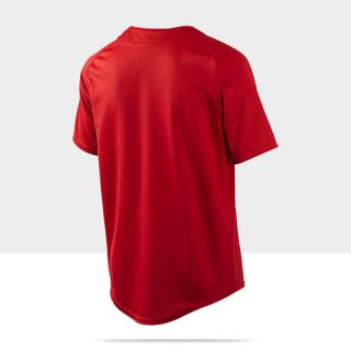 Nike Dri FIT Elite Boys Henley Shirt 453370_657_B