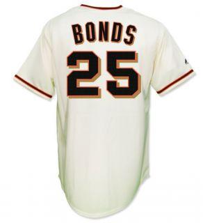 Barry Bonds San Francisco Giants Cream Home Jersey Mens Sz M 2XL