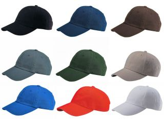 New Plain Low Profile Baseball Hat Cap Many Colors Available