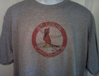 St Louis Cardinals 1970s Throwback MLB Baseball Logo Shirt x Large