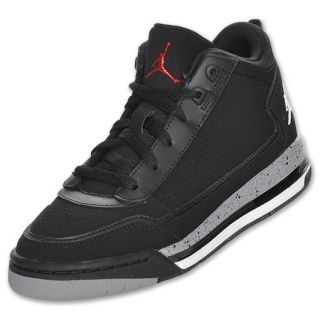 Jordan C Series Kids Basketball Shoe Black White Red Cement Grey