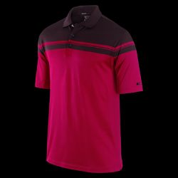 Nike TW Dri FIT Engineered Stripe Mens Golf Polo