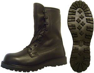 New Mens Bates ICB Boots Leather Gore Tex Vibram 13 5 D