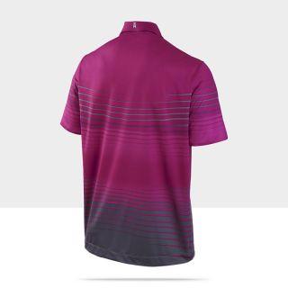 TW Gradient Stripe Mens Golf Polo Shirt 483625_654_B