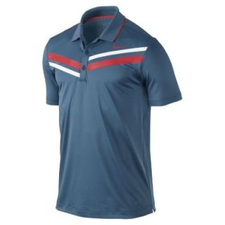 Nike Double Stripe Mens Golf Polo Shirt