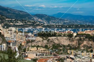 stock photo 22079104 view of monaco