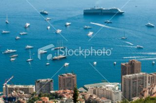 stock photo 22079199 view of monaco