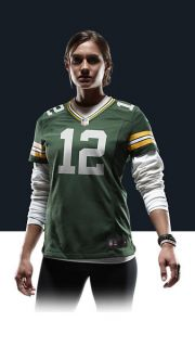Aaron Rodgers Womens Football Home Game Jersey 469900_323_A_BODY