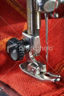 stock photo 19270557 sewing machine detail