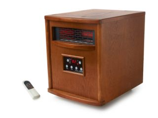 LifeSmart 1500 Watt Quartz Infrared Heater with Remote Control
