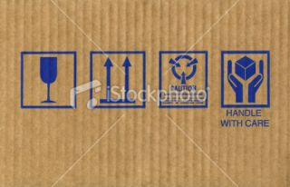 stock photo 15557482 cardboard box symbols