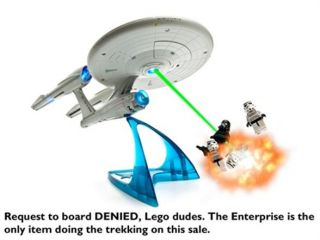 Star Trek USS Enterprise NCC 1701 Model with Lights & Sounds
