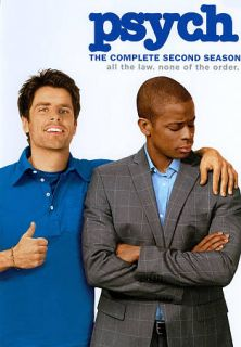Psych   The Complete Second Season DVD, 2011, 4 Disc Set