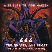 Tribute to Iron Maiden, Vol. 2 666 Number of the Beast CD, Aug 2000