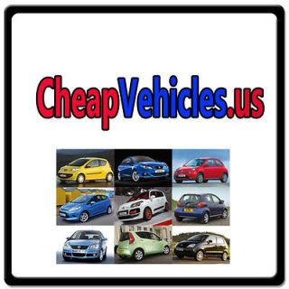 Cheap Vehicles.us WEB DOMAIN FOR SALE/USED AUTO MARKET/CAR/TRUCK