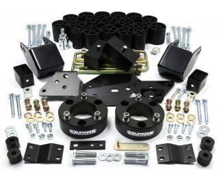 Body Lift Kit w/Diff Drop PRO (Fits 2012 Chevrolet Silverado 1500