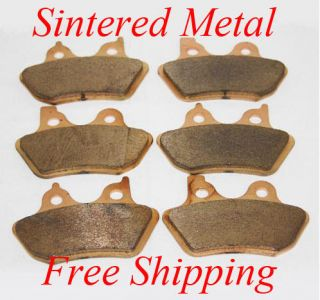 Front + Rear] Performance Sintered Brake Pads For Harley Davidson 3