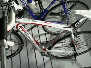 new 2010 pinarello fp3 carbon white red complete bike from