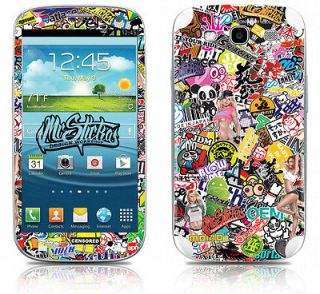 samsung galaxy s3 skin sticker kit sticker bomb v1 from
