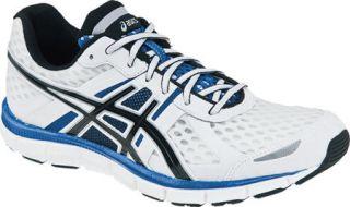 Asics Mens Gel Blur 33 Running Shoes White Royal Blue Black T1H3N 0190