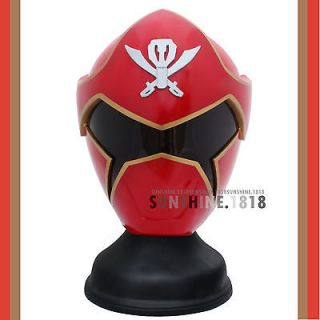 RED POWER RANGERS GOKAI RED RANGER KAIZOKU SENTAI HELMET COSTUME 1/1