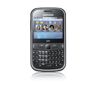 Samsung Chat 335   Metallic black Unlocked Smartphone