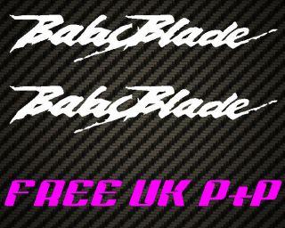 Babyblade Belly pan fairing sticker for NSR VFR RVF CBR 400 fireblade