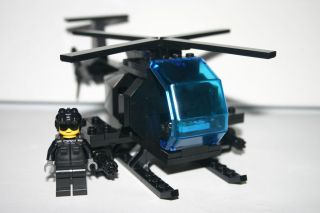 Custom AH 6 Little Bird Army Helicopter Navy Seal Delta Force Special